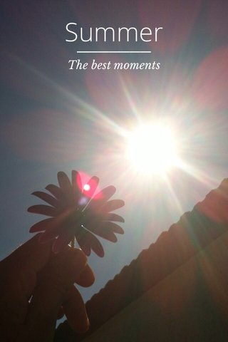 Summer The best moments