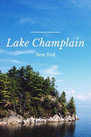 Lake Champlain New York
