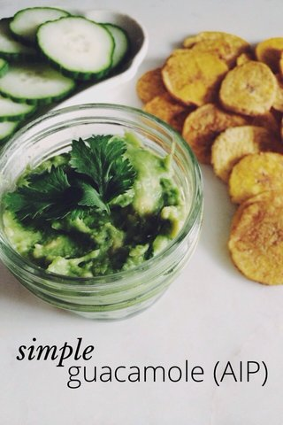 guacamole (AIP) simple
