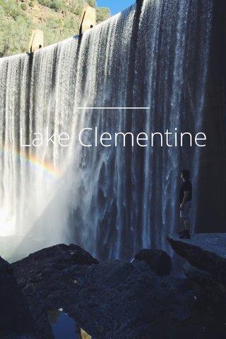 Lake Clementine