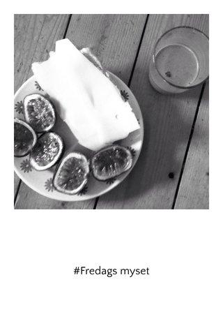 #Fredags myset