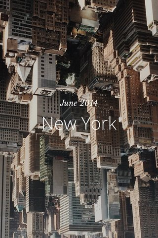 New York June 2014