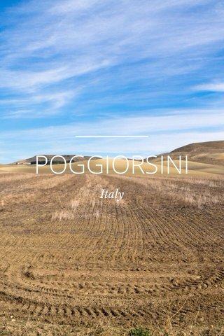 POGGIORSINI Italy