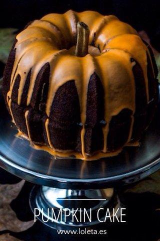PUMPKIN CAKE www.loleta.es