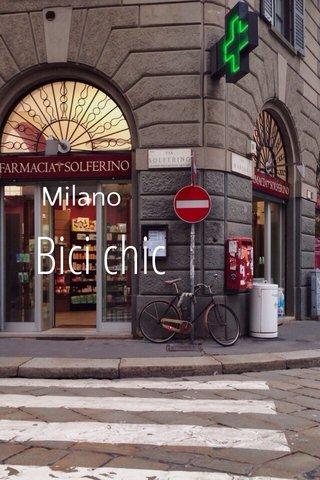 Bici chic Milano