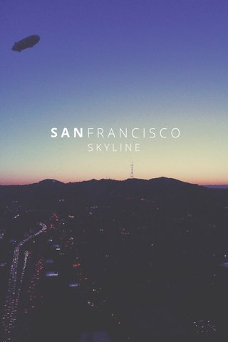 FRANCISCO SAN SKYLINE