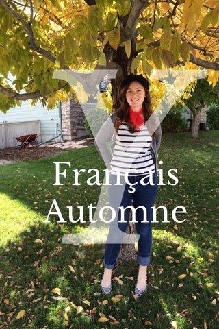 Y Français Automne
