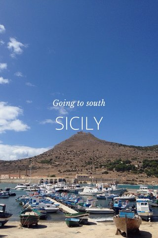 SICILY Going to south