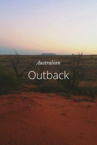 Outback Australian