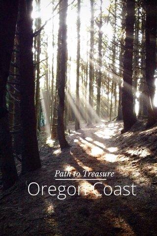 Oregon Coast Path to Treasure