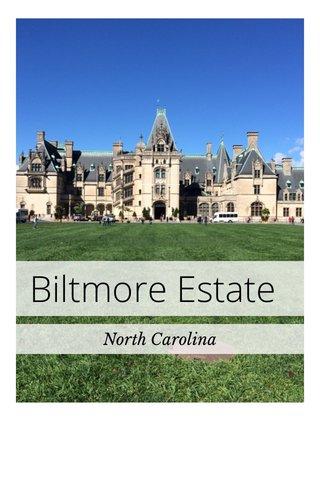 Biltmore Estate North Carolina