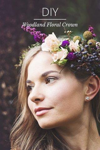 DIY Woodland Floral Crown