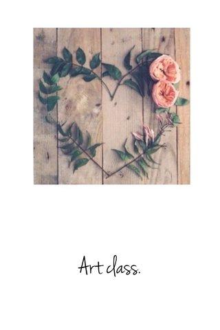 Art class.