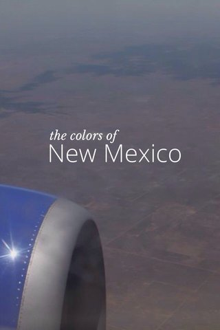 New Mexico the colors of