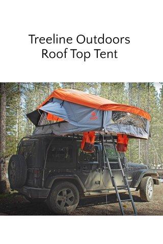 Treeline Outdoors Roof Top Tent
