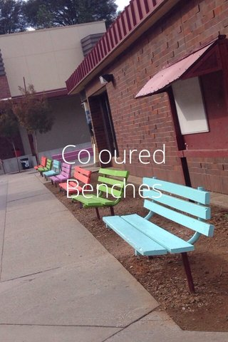 Coloured Benches