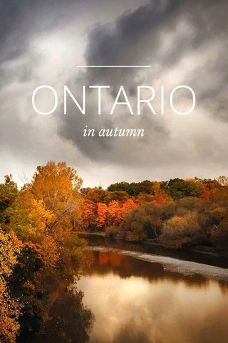 ONTARIO in autumn