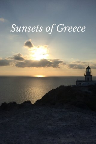 Sunsets of Greece