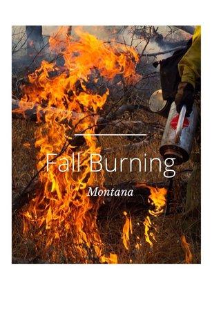 Fall Burning Montana
