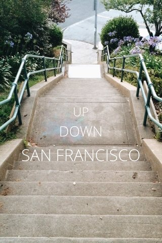 SAN FRANCISCO DOWN UP