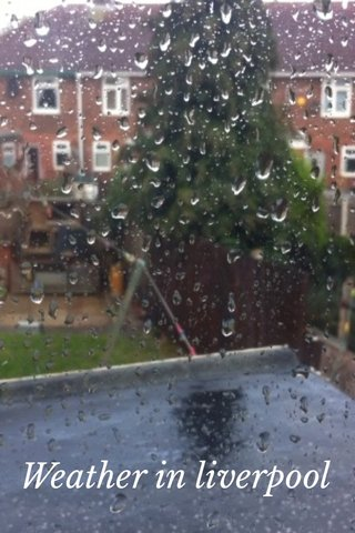 Weather in liverpool