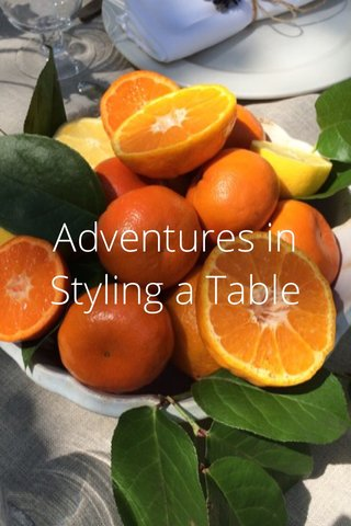 Adventures in Styling a Table