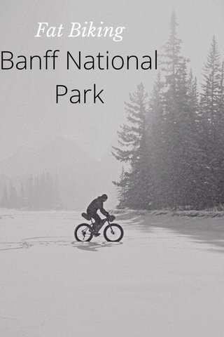 Banff National Park Fat Biking