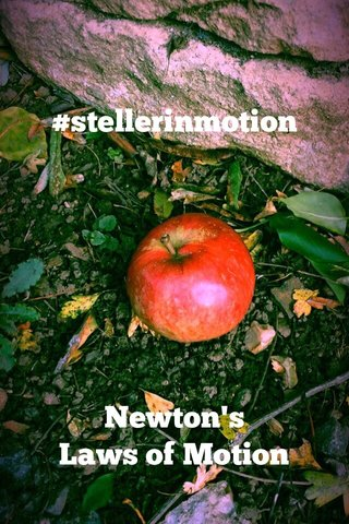 #stellerinmotion Newton's Laws of Motion