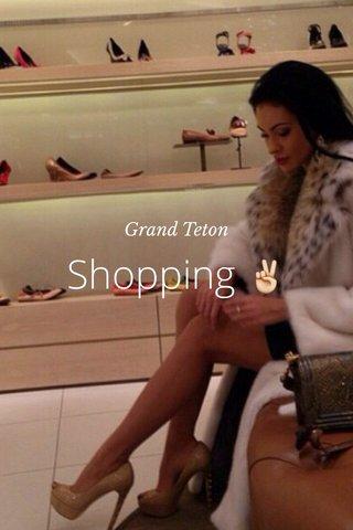Shopping ✌️ Grand Teton