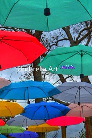 Umbrella Art ☔️☔️