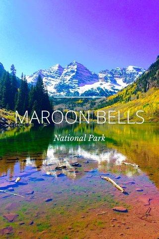MAROON BELLS National Park