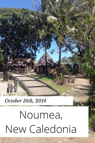 Noumea, New Caledonia October 16th, 2014
