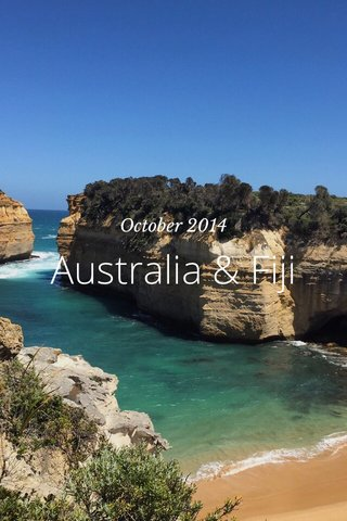 Australia & Fiji October 2014