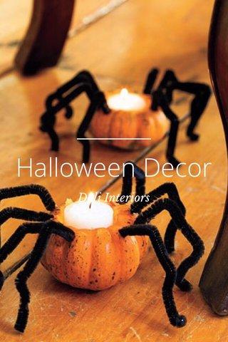 Halloween Decor Dali Interiors