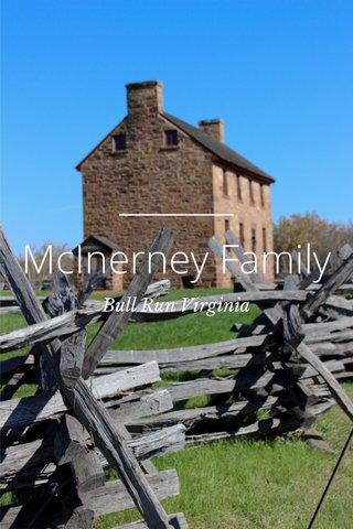 McInerney Family Bull Run Virginia