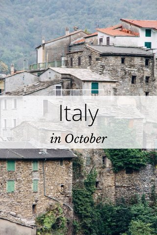 Italy in October