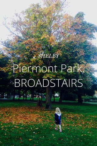 Piermont Park, BROADSTAIRS SHELBY