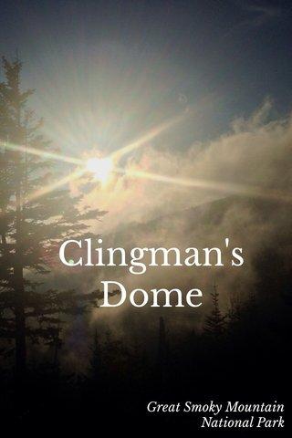 Clingman's Dome Great Smoky Mountain National Park