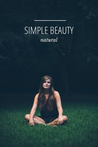 SIMPLE BEAUTY natural