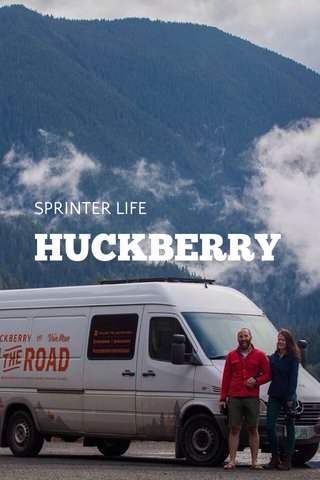 HUCKBERRY SPRINTER LIFE