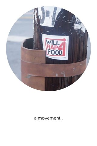 a movement .