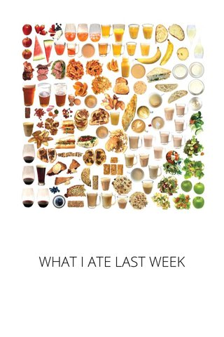 WHAT I ATE LAST WEEK