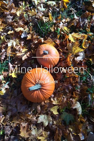 Mine Halloween Stockholm