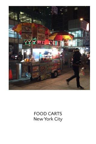 FOOD CARTS New York City