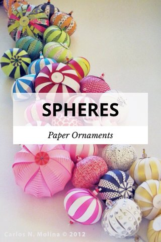 SPHERES Paper Ornaments
