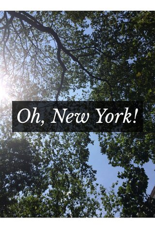 Oh, New York!