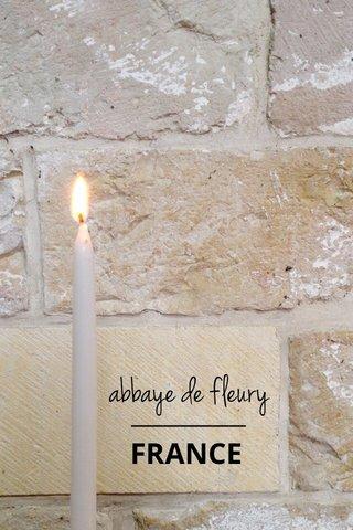 abbaye de fleury FRANCE