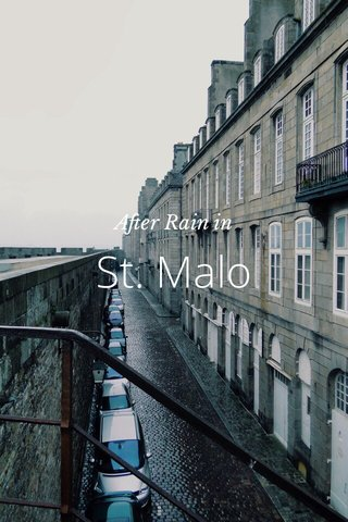 St. Malo After Rain in