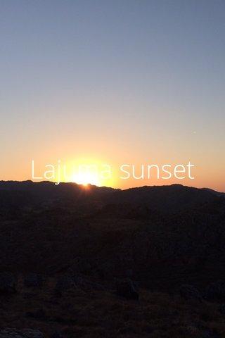 Lajuma sunset