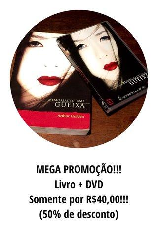 MEGA PROMOÇÃO!!! Livro + DVD Somente por R$40,00!!! (50% de desconto)